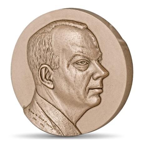 (FMED.Méd.MdP.CuSn.100111147600P0) Médaille bronze - Antoine de Saint-Exupéry Avers
