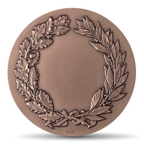 (FMED.Méd.MdP.CuSn.100110712400P0) Médaille bronze - La Justice, par Gregorio Vardanega Revers