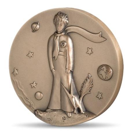 (FMED.Méd.MdP.CuSn.100111163200P0) Médaille bronze - Le Petit Prince Avers