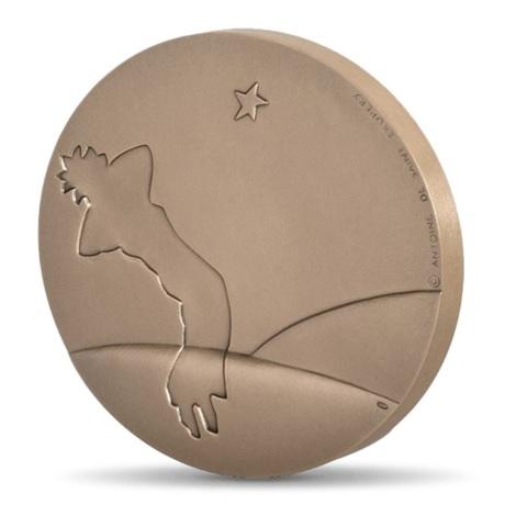 (FMED.Méd.MdP.CuSn.100111163200P0) Médaille bronze - Le Petit Prince Revers