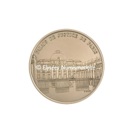 Médaille bronze - Palais de Justice de Paris - avers