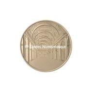 Médaille bronze - Palais de Justice de Paris - revers