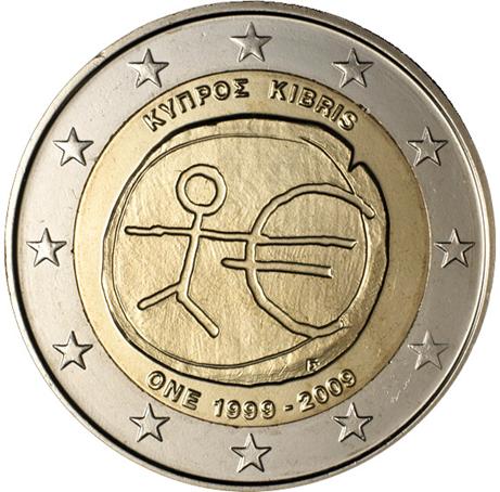 2 euro commémorative Chypre 2009 - EMU