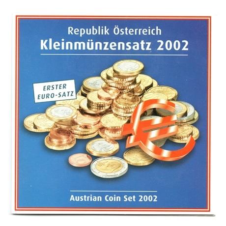 (EUR01.BU.set.2002) Coffret BU Autriche 2002 Recto