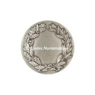 Médaille bronze argenté - La Justice - revers