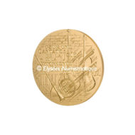 Médaille bronze florentin - Voeux 26 en majeur - revers