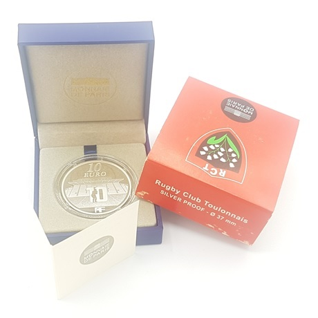 (EUR07.ComBU&BE.2012.1000.BE.10041275520000) 10 euro France 2012 argent BE - RCT (packaging)