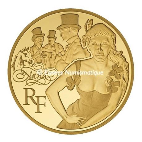 50 euro France 2011 or BE - Nana Avers