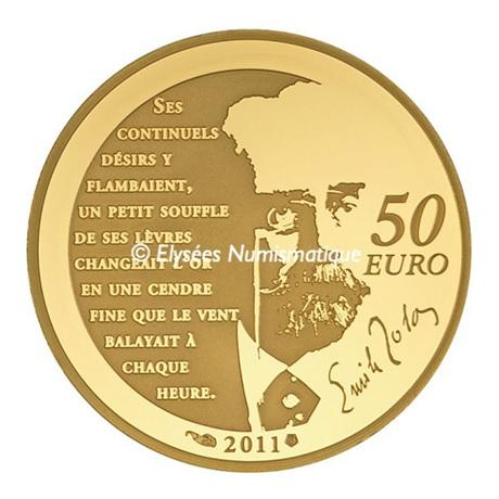 50 euro France 2011 or BE - Nana Revers