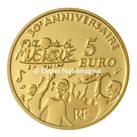 (EUR07.ComBU&BE.2011.10041268830000) 5 euro France 2011 Au BE - Europa Revers