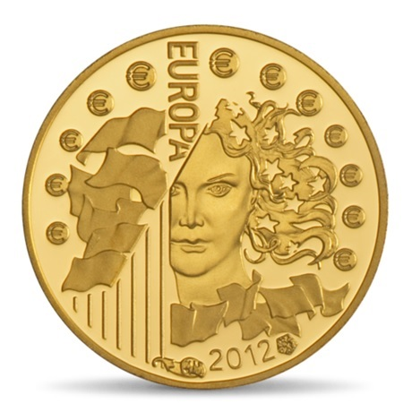 (EUR07.ComBU&BE.2012.10041275050000) 5 euro France 2012 Au BE - Europa Avers