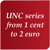 Séries UNC 1 cent à 2 euro