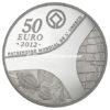 50 euro France 2012 argent BE - Patrimoine egyptien Revers