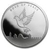 Médaille argent 1 once - Colombe de la Paix 2014 Avers