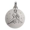 (FMED.Méd.couMdP.Ag4) Médaille de cou argent - Le Petit Prince dans les étoiles Avers