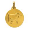 (FMED.Méd.couMdP.Au1) Médaille de cou or - []Dessine-moi un mouton[] Avers