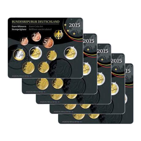 Coffrets BU Allemagne 2015 (les 5 ateliers A, D, F, G et J)