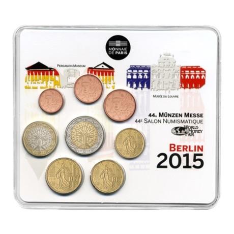 (EUR07.CofBU&FDC.2015.10041293480000) Mini-set BU France 2015 - Salon de Berlin Recto