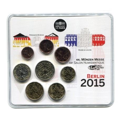 (EUR07.CofBU&FDC.2015.10041293480000.355) Mini-set BU France 2015 - Salon de Berlin Recto