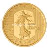 5 euro France 2009 or BE - Semeuse Avers