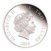 2 dollars Niue 2016 1 once argent BE - Rey Solo Avers