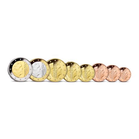 1 cent à 2 euro Pays-Bas 2016