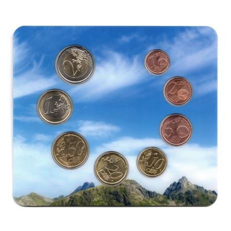 (EUR24.CofBU&FDC.2015.Cof-BU.28071) Coffret BU Andorre 2015 Revers