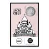 (FMED.Méd.tourist.n.d._2016_.CuNi16) Jeton touristique - Sacré-Coeur de Montmartre Recto