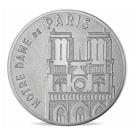(FMED.Méd.tourist.n.d._2016_.CuNi9) Jeton touristique - Notre-Dame de Paris Avers