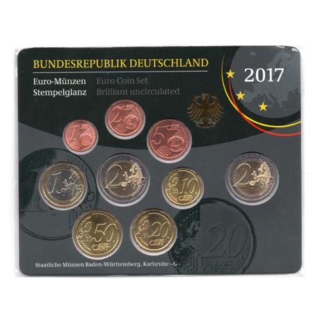 (EUR03.CofBU&FDC.2017.Cof-BU.G.000000002) Coffret BU Allemagne 2017 G Verso