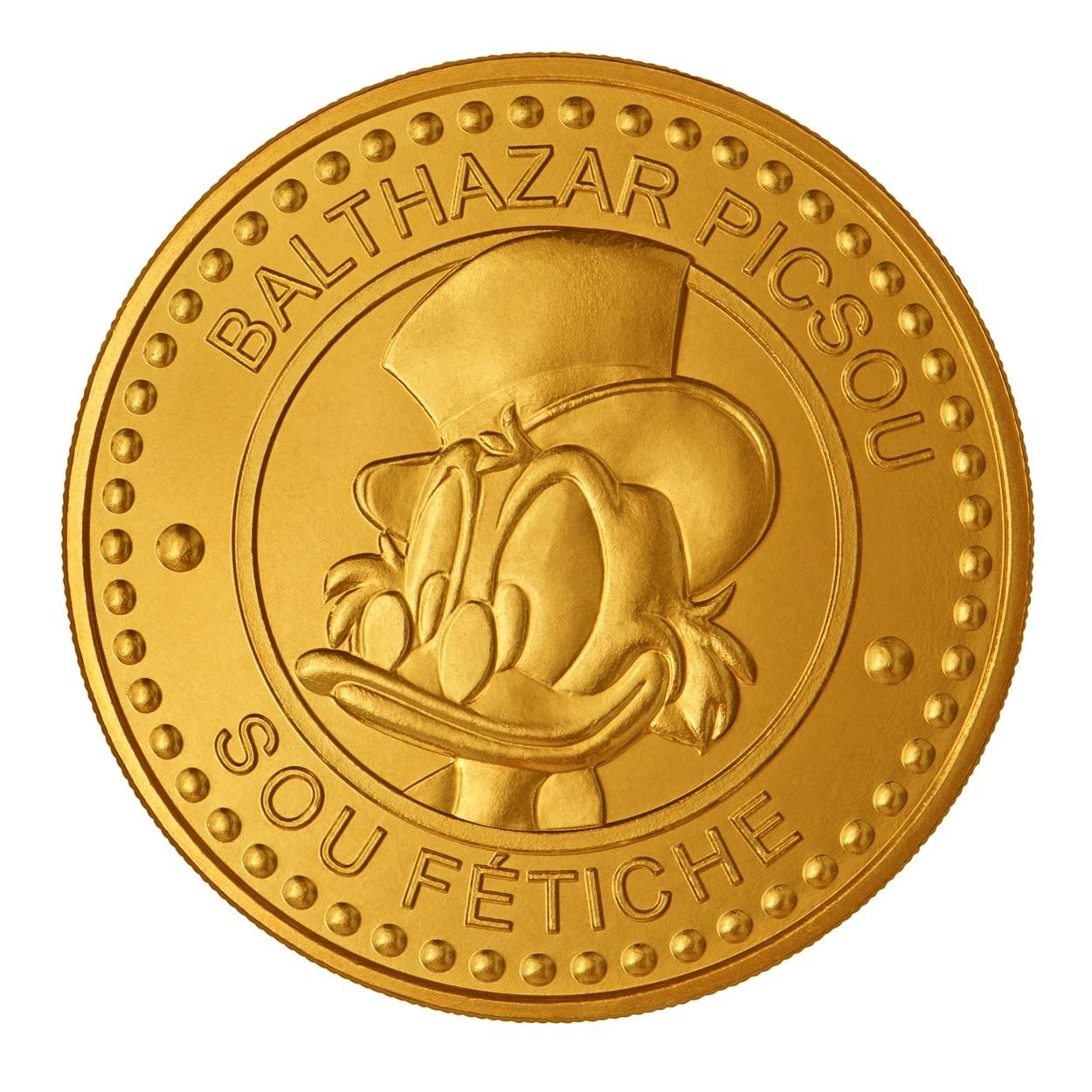(FMED.Méd.souv.n.d._2017_.10011311620000) Memory token - Scrooge McDuck's Number one Dime Obverse (zoom)
