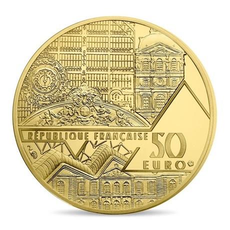 (EUR07.ComBU&BE.2017.10041308020000) 50 euro France 2017 or BE - Vénus de Milo Avers