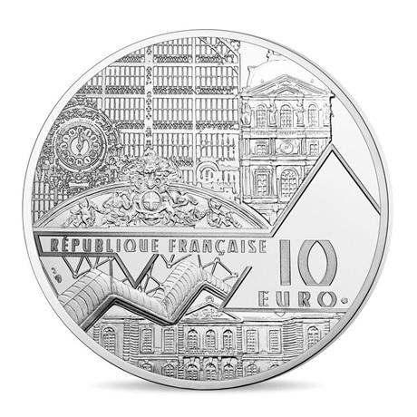 (EUR07.ComBU&BE.2017.10041308050000) 10 euro France 2017 argent BE - Le déjeuner sur l'herbe Avers