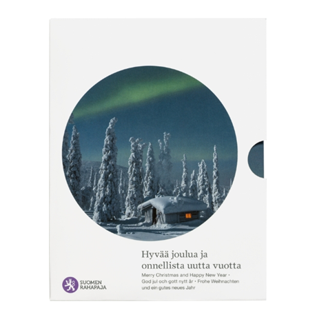 (EUR06.CofBU&FDC.2017.Cof-BU.7) Coffret BU Finlande 2017 - Noël