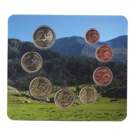 (EUR24.CofBU&FDC.2017.Cof-BU.01858) Coffret BU Andorre 2017 Revers
