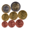 (LOT.EUR04.001to200.2017.1.000000002) Complete series from 1 cent to 2 euro Cyprus 2017 Reverses
