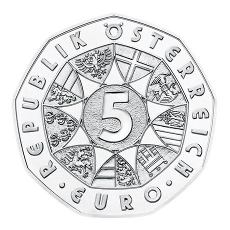 (EUR01.ComBU&BE.2018.23372) 5 euro Autriche 2018 argent BU - Lapin de Pâques (en coffret) Avers