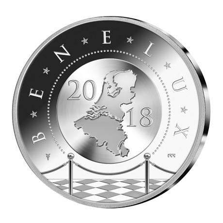 Coffret BU Benelux 2018 (avers médaille)