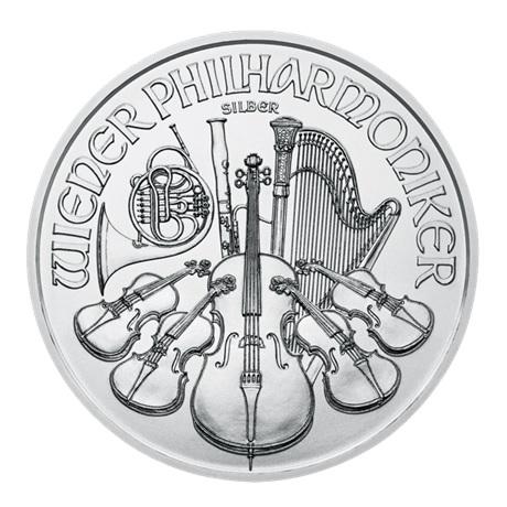 (EUR01.150.2016.21597) 1,50 euro Autriche 2016 1 once argent - Philharmonique Revers