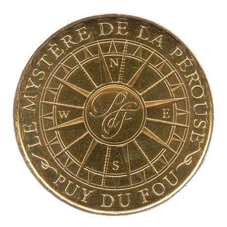 (FMED.Méd.tourist.2018.CuAlNi-1.spl.000000001) Jeton touristique - Le mystère de La Pérouse Avers