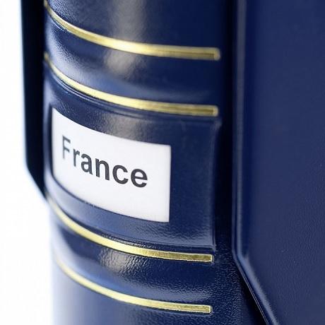 (MAT01.Alb&feu.Alb.302901) Classeur Leuchtturm GRANDE Signum bleu (étiquette)