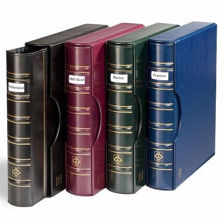 (MAT01.Alb&feu.Alb.302901) Classeur Leuchtturm GRANDE Signum bleu