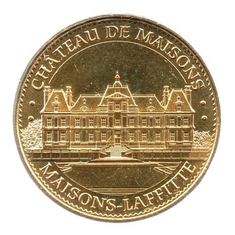 (FMED.Méd.tourist.2018.CuAlNi-3.1.spl.000000001) Jeton touristique - Château de Maisons-Laffitte Avers