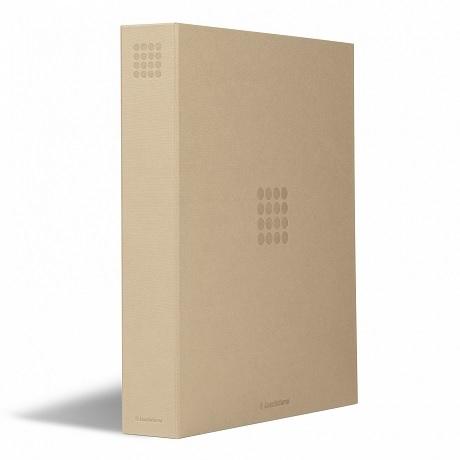 (MAT01.Alb&feu.Alb.359523) Classeur Leuchtturm GRANDE beige sans étui