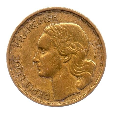 (FMO.20.1950.2.1.ttb.000000001) 20 Francs Guiraud 1950 Avers