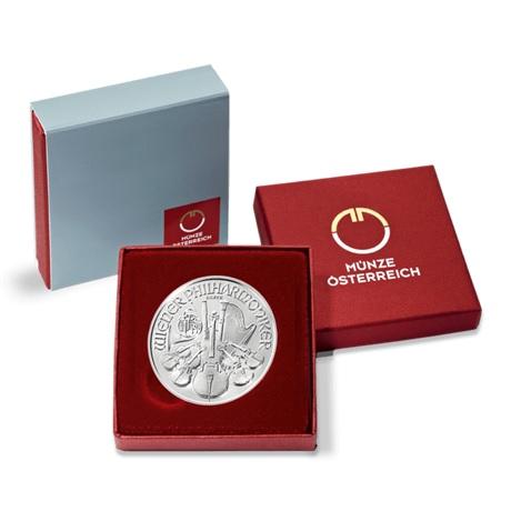 (EUR01.150.2019.1.ag.bullco.18945) 1,50 euro Autriche 2019 1 once argent - Philharmonique (écrin)