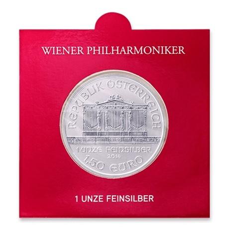 (EUR01.150.2019.1.ag.bullco.20341) 1,50 euro Autriche 2019 1 once argent - Philharmonique (blister)