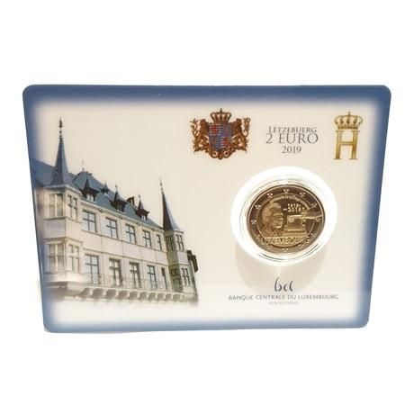 (EUR11.ComBU&BE.2019.200.BU.COM1.7151) 2 euro commémorative Luxembourg 2019 BU - Droit de vote Recto