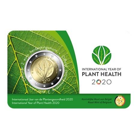 (EUR02.ComBU&BE.2020.200.BU.COM1.1) 2 euro Belgique 2020 BU - Santé des plantes (légende flamande) Recto