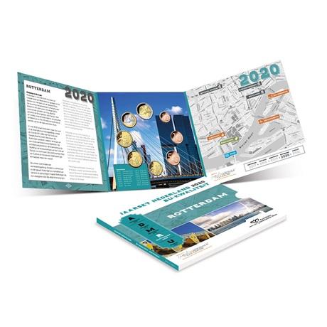 (EUR14.CofBU&FDC.2020.Cof-BU) Coffret BU Pays-Bas 2020 (Rotterdam) (intérieur)